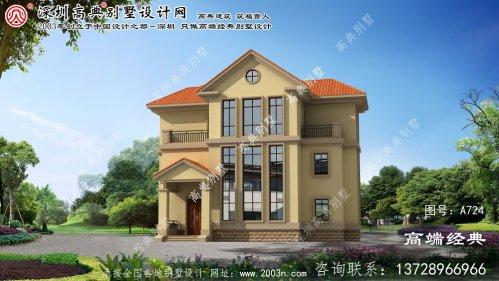 天长市农村住宅楼设计图
