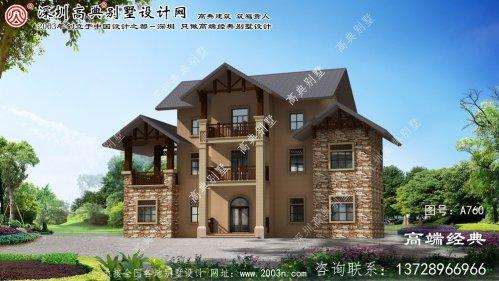 石台县农村房屋别墅设计图纸