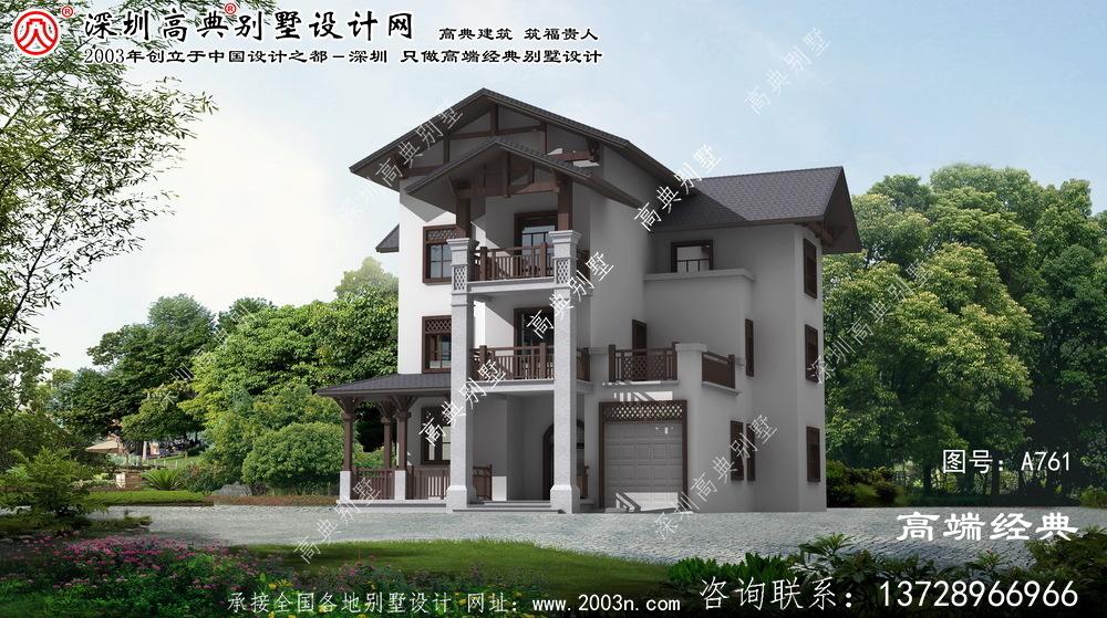 贵池区农村经济型别墅设计图