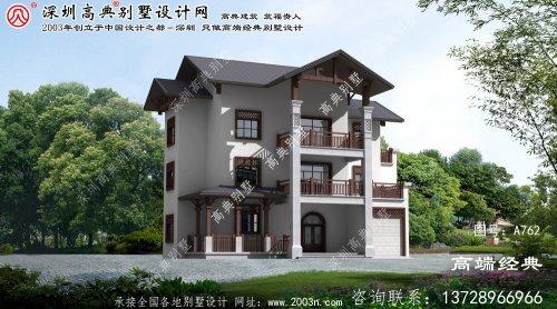 同安区农村经济型别墅设计图