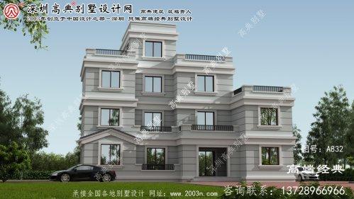 德化县四层建瓯别墅设计图