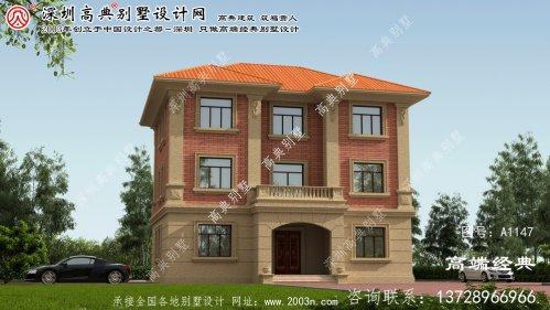 费县农村别墅房屋设计图