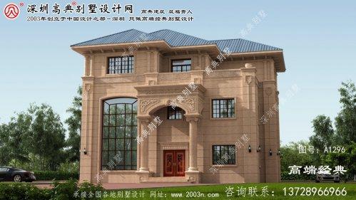 丰南区农村多层别墅设计图