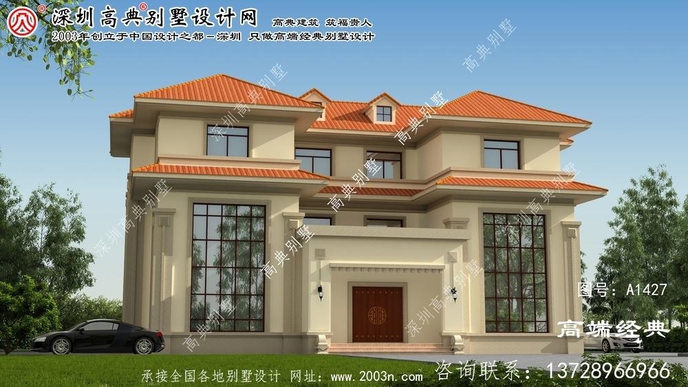 桥东区大型别墅设计图纸及效果图大全