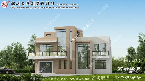 寿阳县现代风格别墅外观