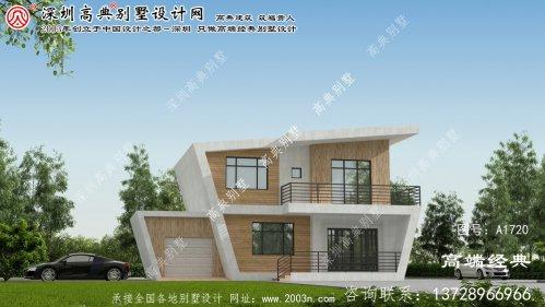 灵石县农村两层别墅室内设计图