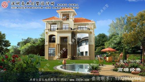 鄂温克族自治旗三层半别墅设计图