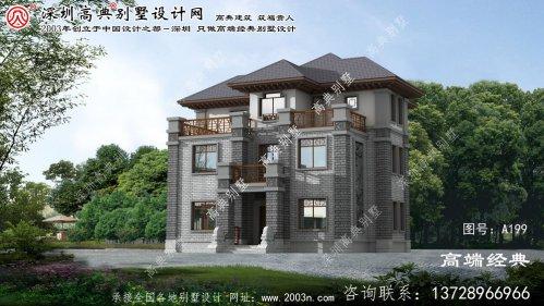 扶余县古典别墅设计图