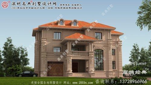 大冶市复式别墅户型图欧式石材