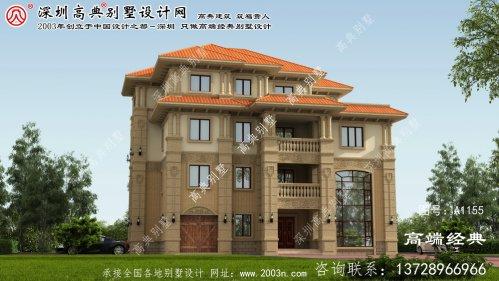 韶山市门面房屋设计图