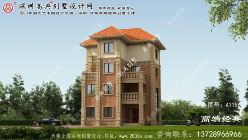湘潭县新款农村别墅图纸