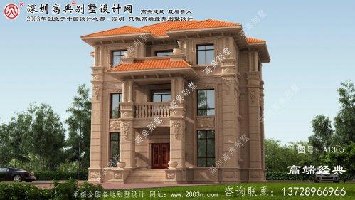 增城市三层户型别墅图纸