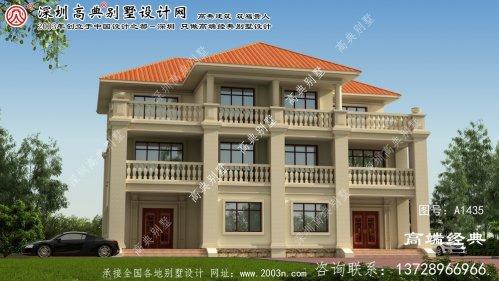 连山壮族瑶族自治县双拼别墅设计图纸
