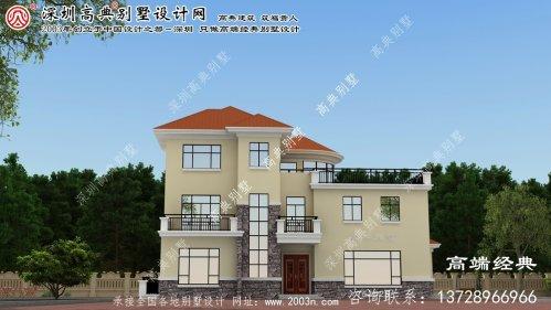 江阳区别墅设计图