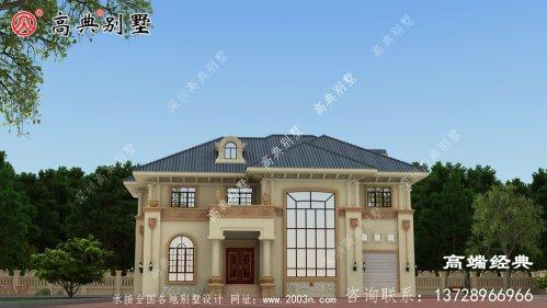 宁南县农村楼房外观设计效果图