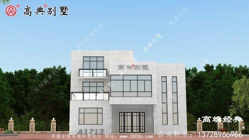 巴青县农村自建三层别墅