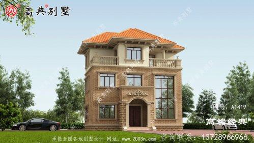 巴青县农村小型别墅装饰设计