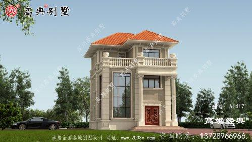 聂荣县农村新别墅图纸