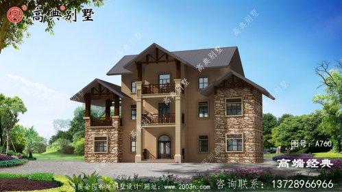 三层楼小别墅设计图