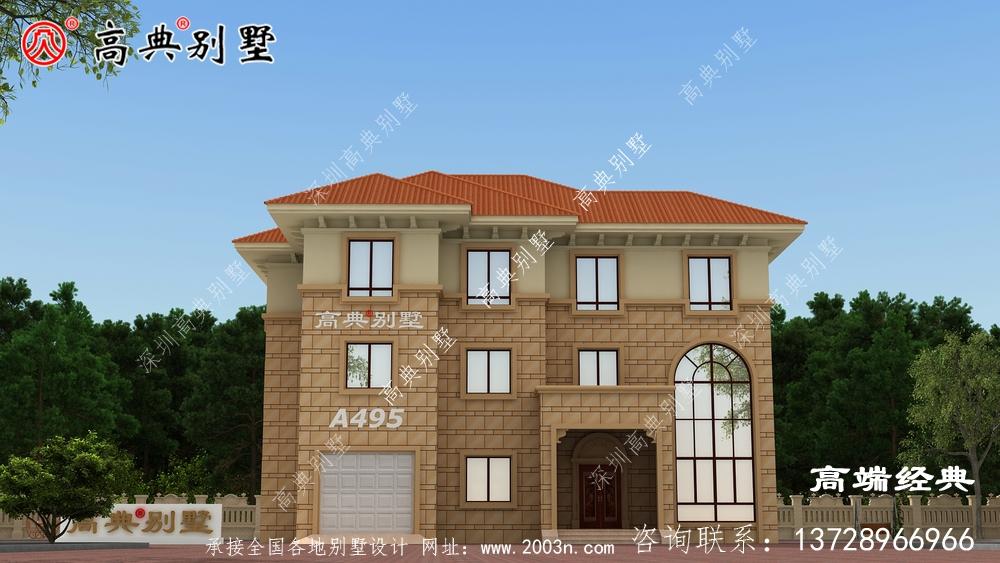 农村182平米别墅完美提升了设计核心