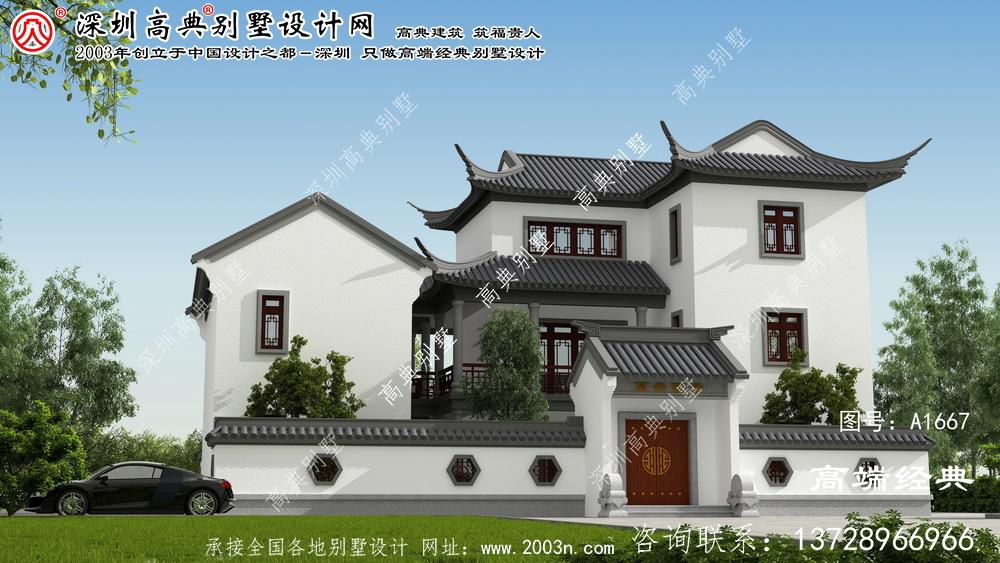武陵区中式小院,方便适合农村建造