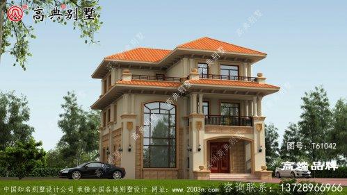 别墅房型设计图纸既美观又实用,不比城里的商