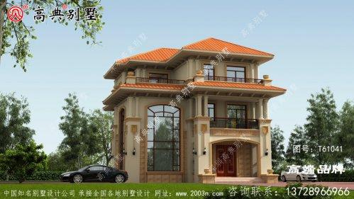 高端别墅图纸独栋复式别墅设计