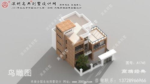 尉犁县现代风格平顶别墅,整体造型十分符合现