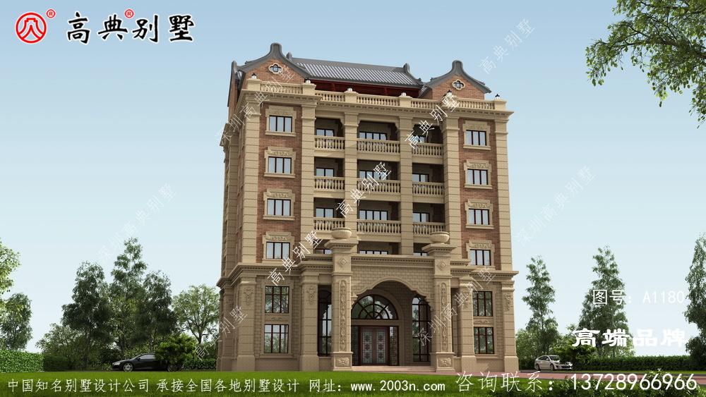 农村别墅设计图农村豪宅