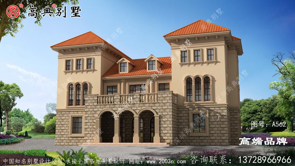 农村房子建筑设计图自建房的上上之选