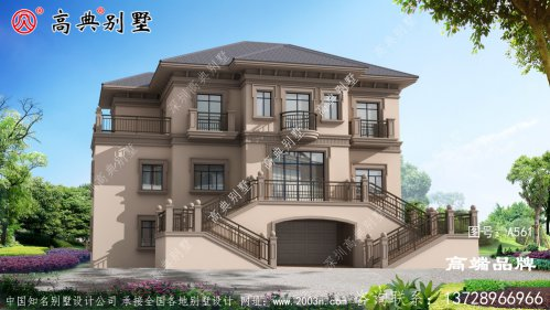 农村三层房屋设计图漂亮有气质