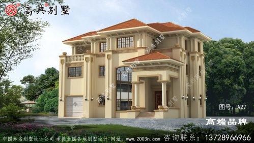 房屋设计图农村,外观上比较简约