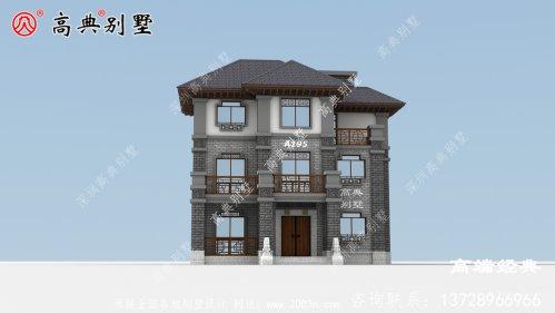 三亚市三层楼房设计图,造价35万,真正适合自家