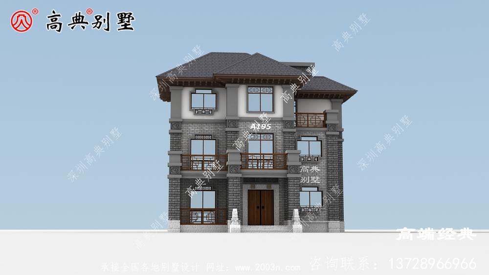 三亚市三层楼房设计图,造价35万,真正适合自家的住宅