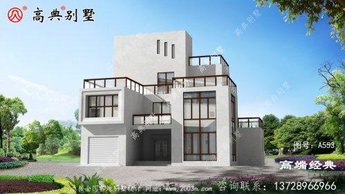 白山市漂亮的独栋三层别墅,每一款都是值得建