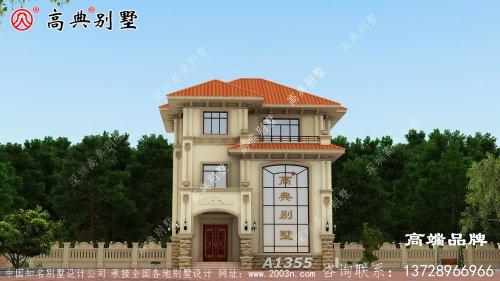 农村房子外观设计图养老房的不二之选
