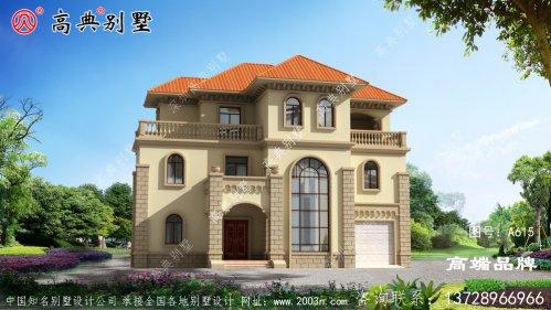 农村三楼设计图适合老百姓自建