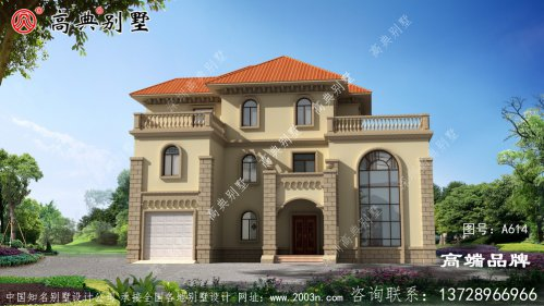 三层农村房屋设计图尊享田园生活