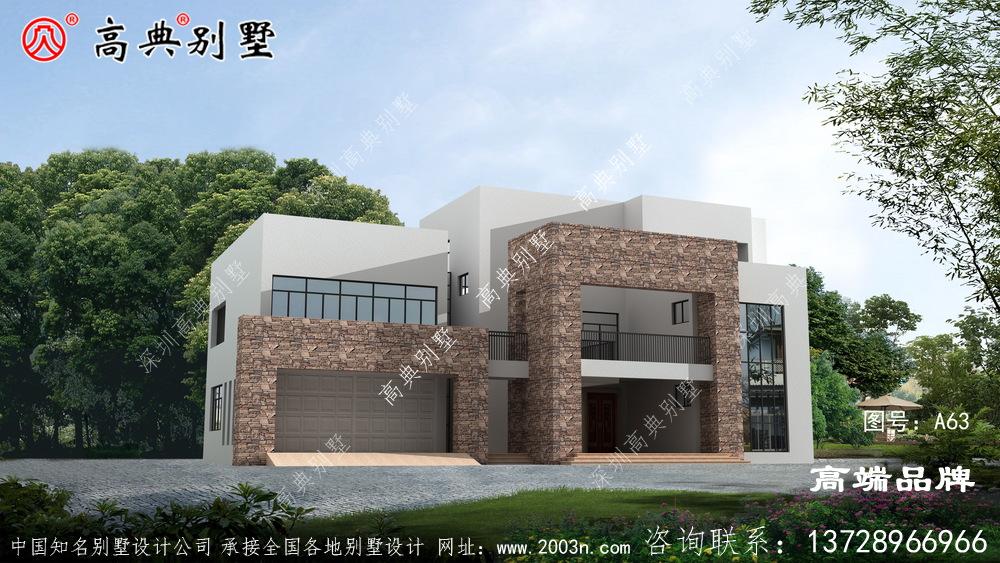 农村房子三层设计图布局上也标新立异