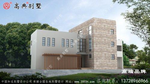 农村3层楼房设计外观独具一格