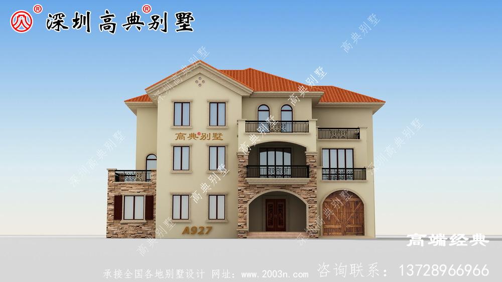 70万三层别墅设计图,在农村建房的话,建三层最实用