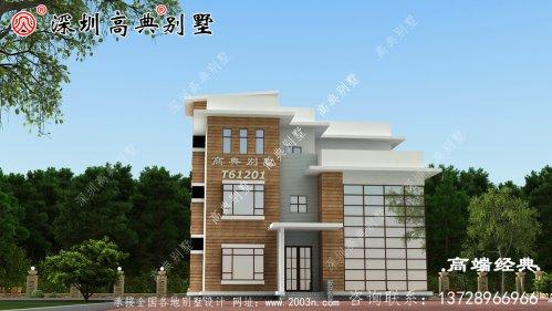 四层豪宅别墅设计图,内配复式客