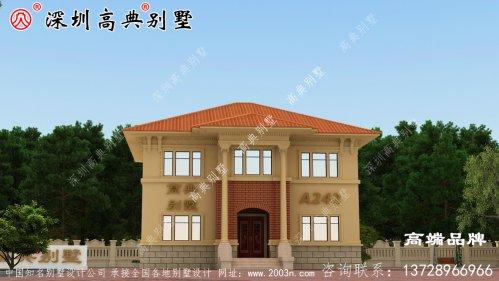 欧式别墅设计图,外观赞布局实用