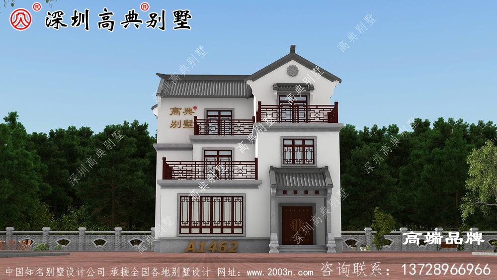 农村别墅设计图,一栋房子一个温暖的家