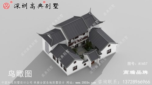 二层农村小户型自建房别墅设计全