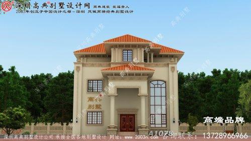 165.41平方房子设计图片,简洁大方