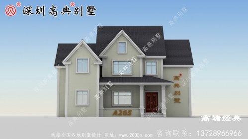 普通小乡村建房设计图分享,看完你还想在城里买房吗?