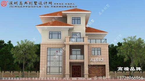 农村四层自建房设计户型,实用的