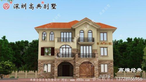 经典三层欧式别墅,谁都建的起
