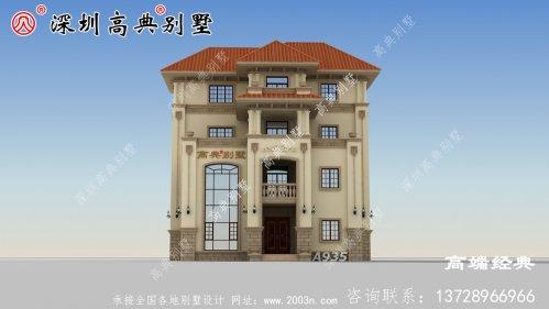 三层半农村楼房户型设计方案图